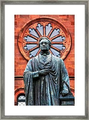 James Smithson Framed Print by Christopher Holmes