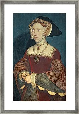 Jane Seymour Framed Print by Holbein