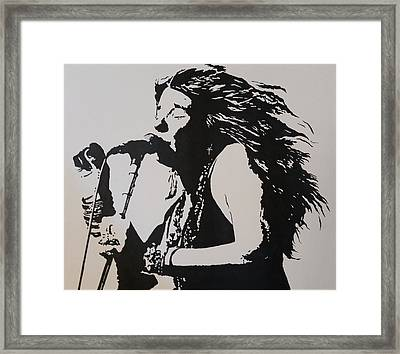 Janis Framed Print by Steven White