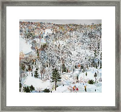 January Framed Print by Sophia Heymans