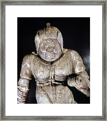 Japan: Buddhist Statue Framed Print by Granger
