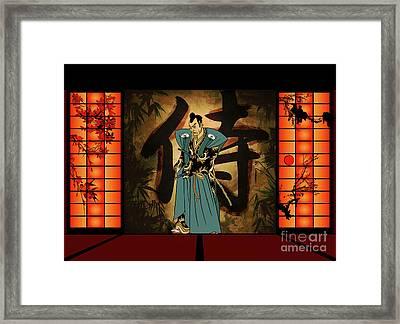 Japanese Style Framed Print by Andrzej Szczerski