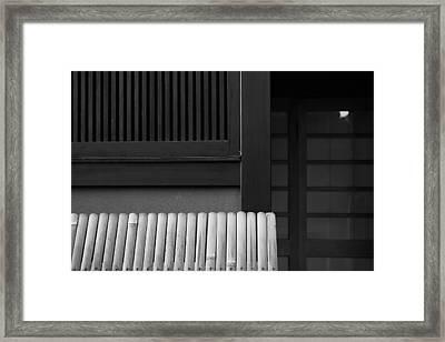 Japanese Texture #29 Framed Print by Hieu Tran