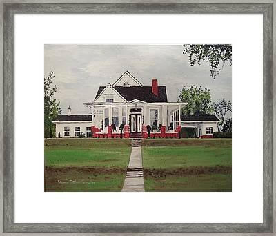 Jarrard House Framed Print by Sharon  De Vore