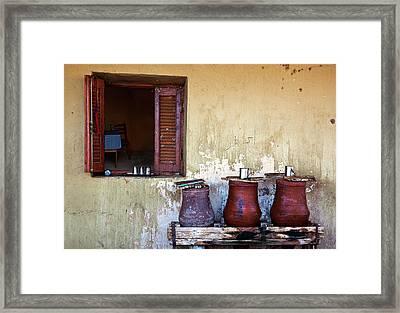 Jars Framed Print by Armando Picciotto