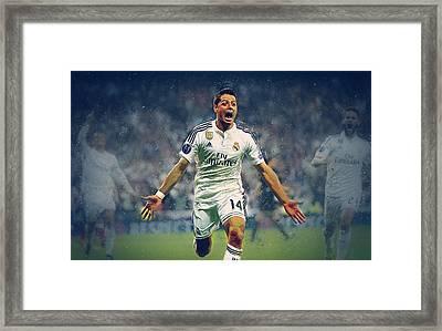 Javier Hernandez Balcazar Framed Print by Semih Yurdabak