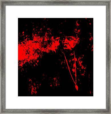 Jay Z 02a Framed Print by Brian Reaves