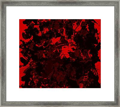 Jay Z 4c Framed Print by Brian Reaves