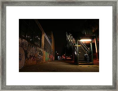 Jayhoc Waits Framed Print by Jason Hochman