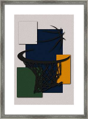 Jazz Hoop Framed Print by Joe Hamilton