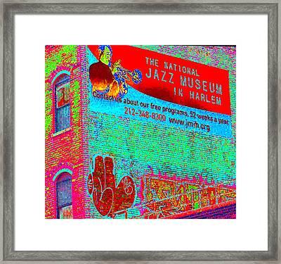 Jazz Museum Framed Print by Steven Huszar
