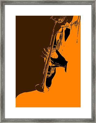 Jazz Framed Print by Naxart Studio