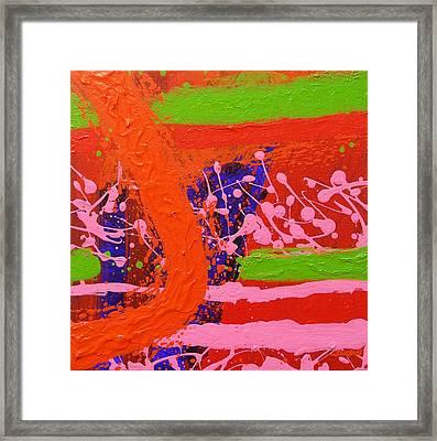 Jazz Process V Framed Print by John  Nolan