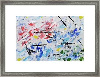 Jazz With Steve Newby Framed Print by Alys Caviness-Gober