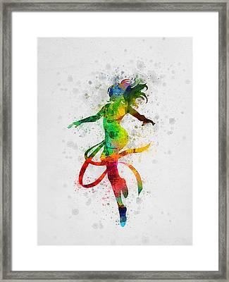 Jean Grey 01 Framed Print by Aged Pixel