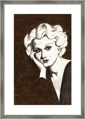 Harlow By Hutton Framed Print by Tara Hutton