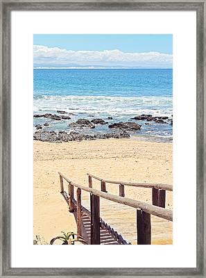 Jeffreys Bay Framed Print by Benjamin Matthijs