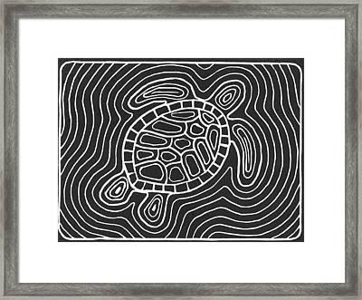 Jekyll Turtle Framed Print by Ed Einboden
