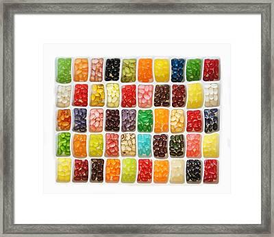 Jellybeans Framed Print by Art Spectrum