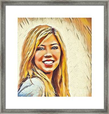 Jennette Framed Print by Robert Radmore