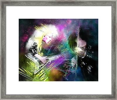 Jennifer Batten Framed Print by Miki De Goodaboom
