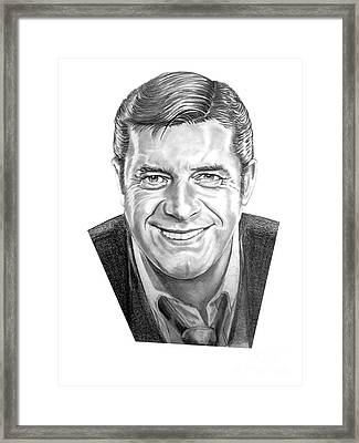Jerry Lewis Framed Print by Murphy Elliott