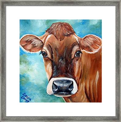 Jersey Girl Framed Print by Laura Carey