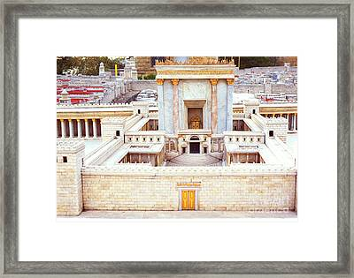 Jerusalem 70 Ad Framed Print by Thomas R Fletcher