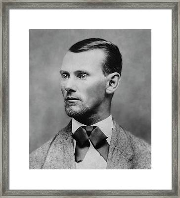 Jesse James -- American Outlaw Framed Print by Daniel Hagerman