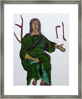 Jesus Framed Print by Emma Kinani