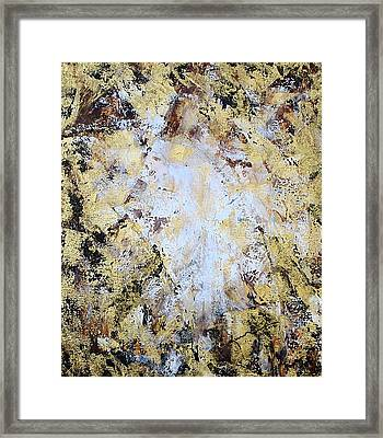 Jesus In Disguise Framed Print by Kume Bryant