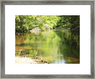 Jesus Rising With Disciples Framed Print by Patricia Lyons