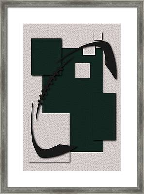 Jets Football Art Framed Print by Joe Hamilton