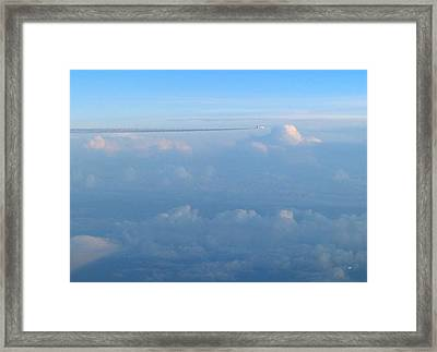 Jets Passing  Framed Print by Will Borden