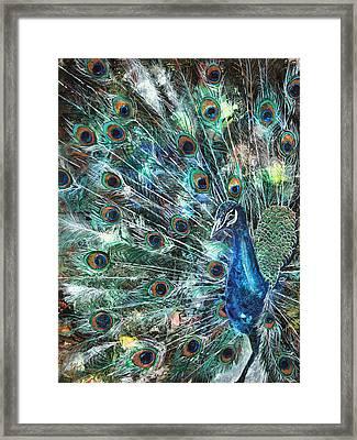 Jeweled Framed Print by Patricia Allingham Carlson