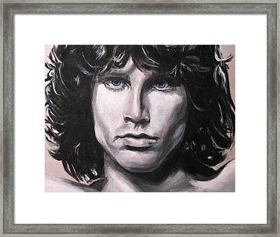 Jim Morrison - The Doors Framed Print by Eric Dee