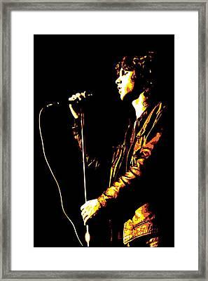 Jim Morrison Framed Print by DB Artist