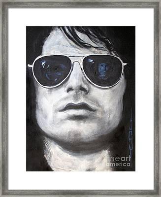 Jim Morrison IIi Framed Print by Eric Dee