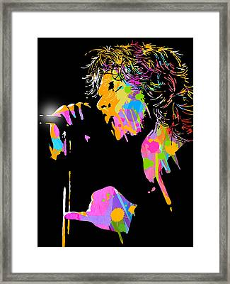 Jim Morrison Framed Print by Paul Sachtleben