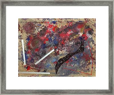 Jimbol Jamble Framed Print by Richard Buchanan