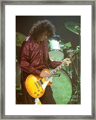 Jimmy Page-0002 Framed Print by Timothy Bischoff