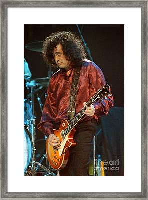 Jimmy Page-0020 Framed Print by Timothy Bischoff