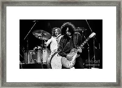 Jimmy Page-0057 Framed Print by Timothy Bischoff