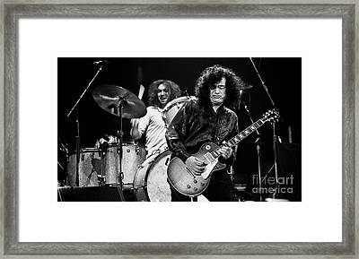 Jimmy Page-0058 Framed Print by Timothy Bischoff