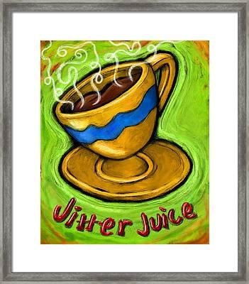 Jitter Juice Framed Print by David Kyte