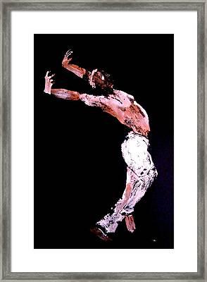 Jive Dancer Framed Print by Ana Bikic