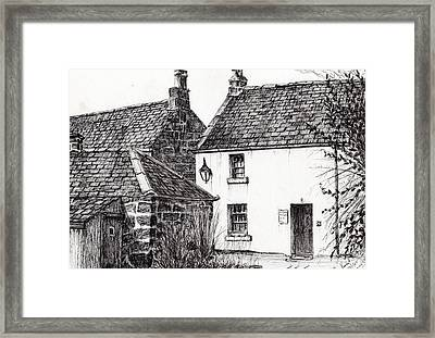 Jm Barrie's Birthplace Framed Print by Vincent Alexander Booth