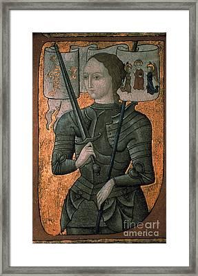 Joan Of Arc (c1412-1431) Framed Print by Granger