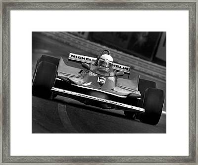 Jodys Ferrari Framed Print by Mike Flynn