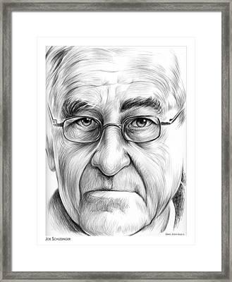 Joe Schlesinger Framed Print by Greg Joens